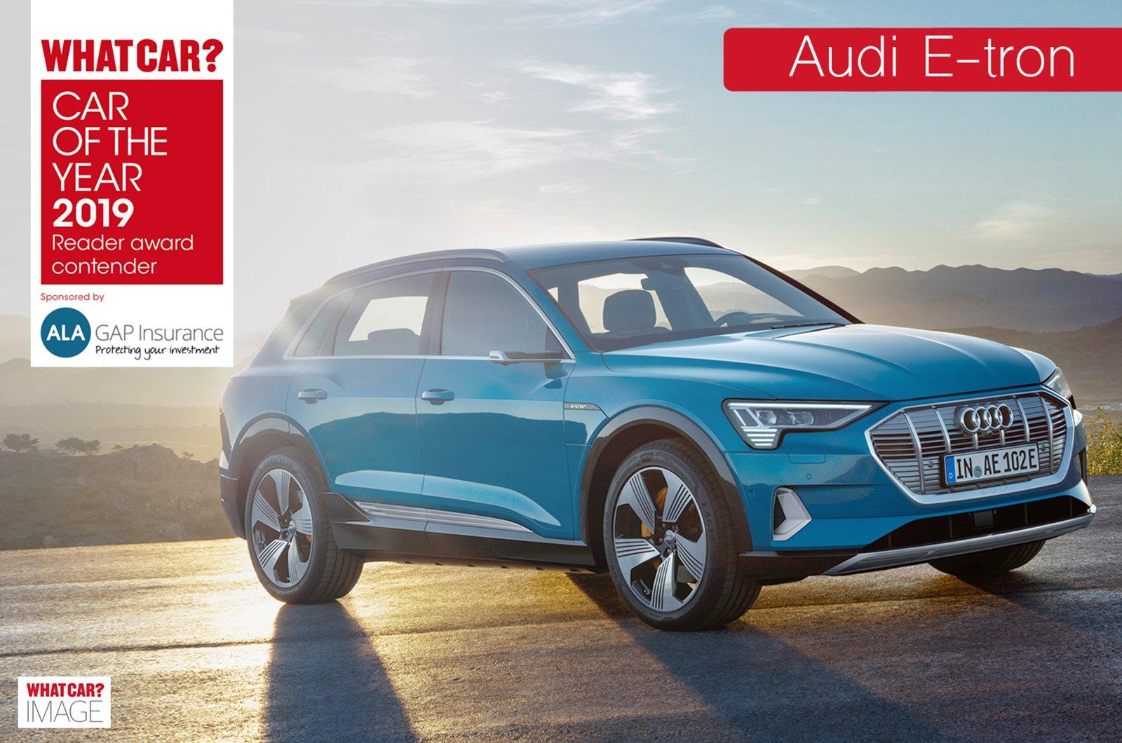 Audi E-tron Reader Award