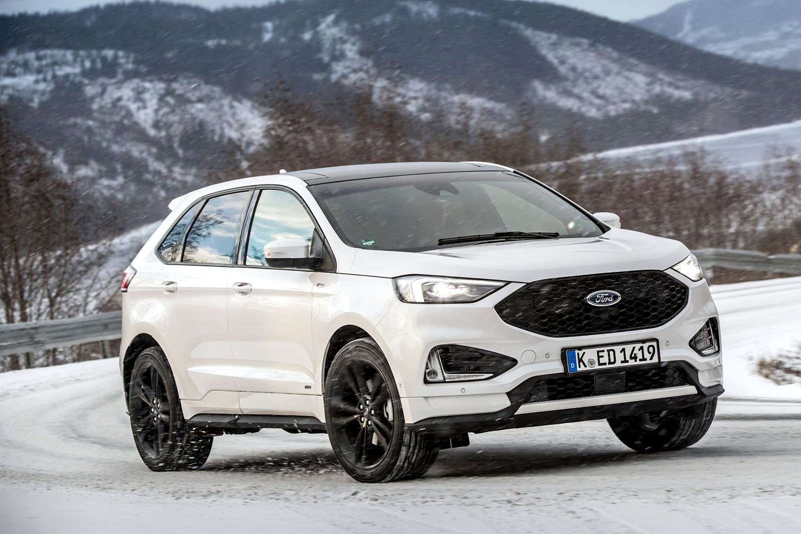 Ford Edge The New Four Wheel Drive