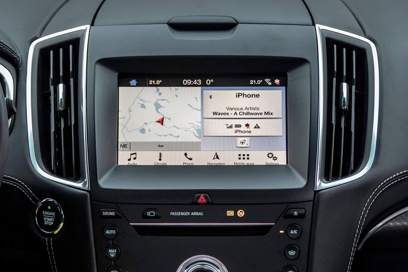 Fords Sync  System Has The Functions Youd Want And Expect Including Apple Carplay And Android Auto Smartphone Mirroring As Standard But It