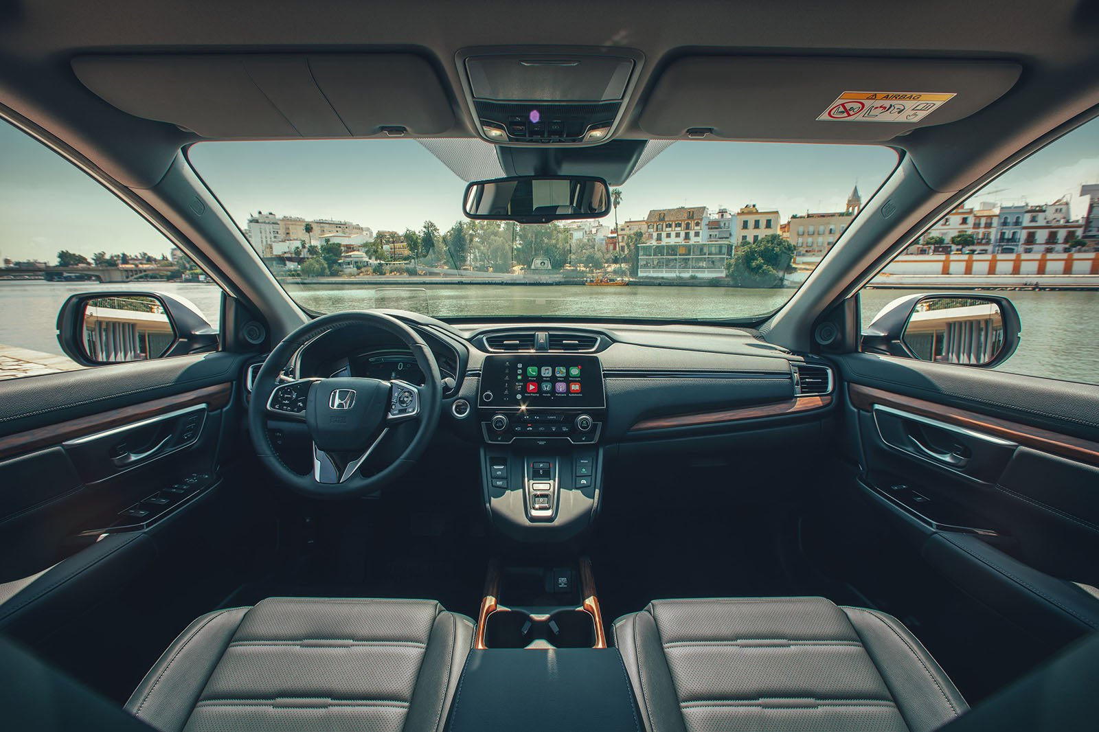 2019 Honda Cr V Hybrid Interior