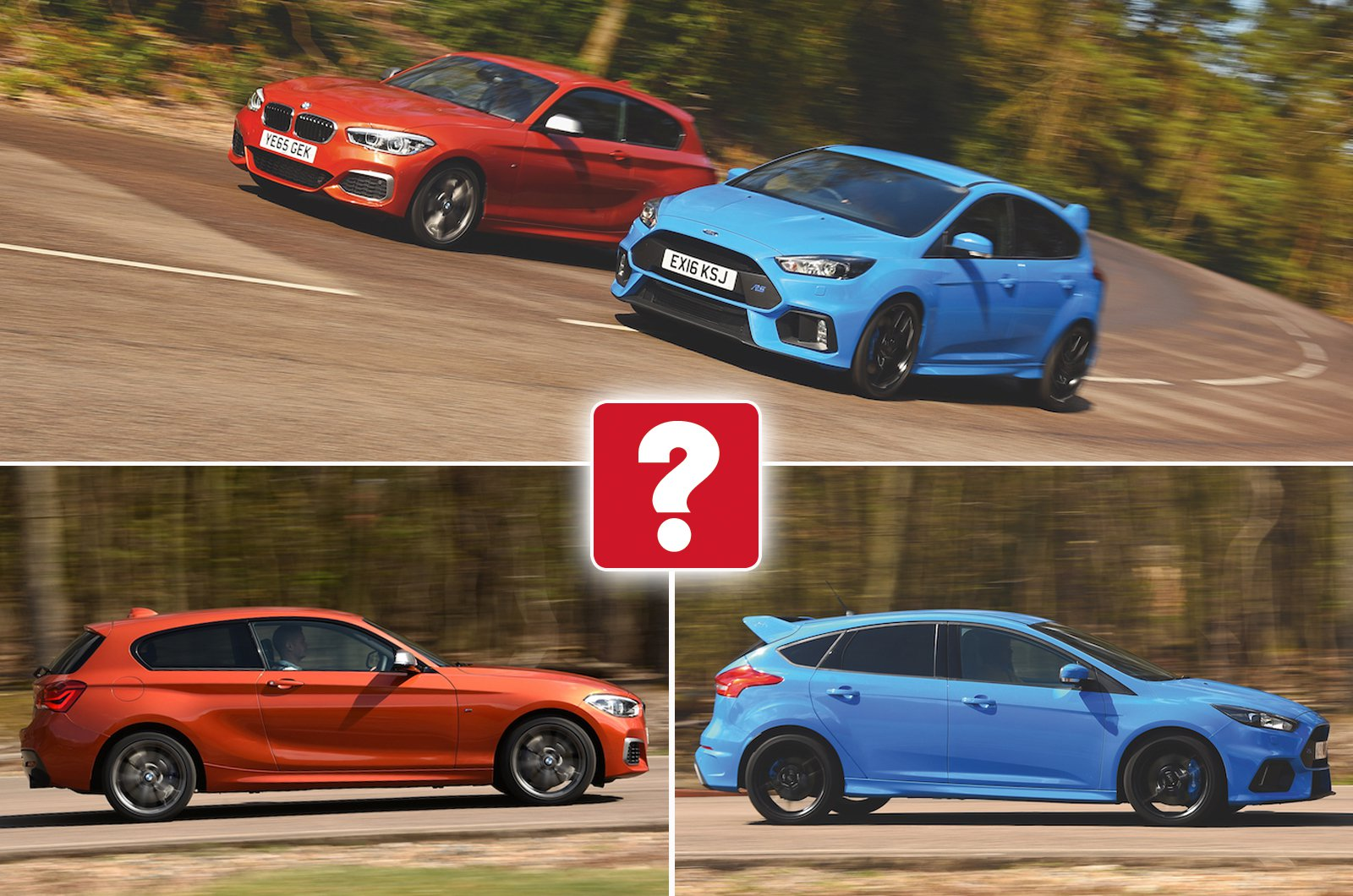 Used BMW M135i vs Ford Focus RS