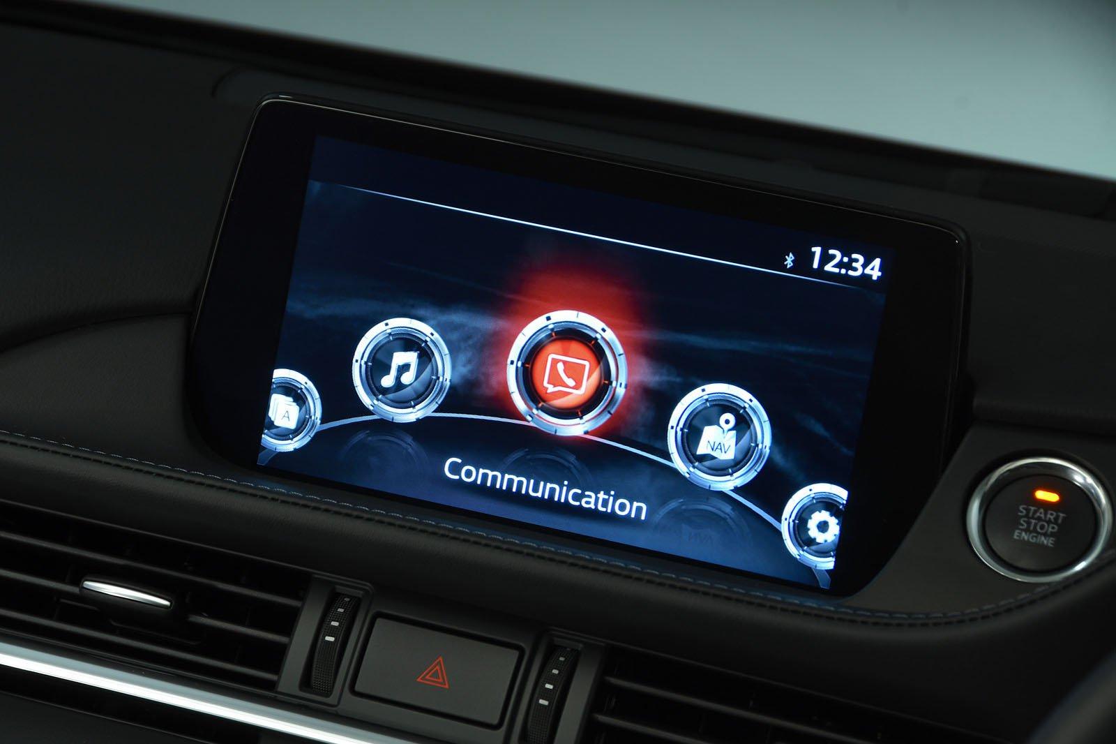 Mazda 6 Infotainment