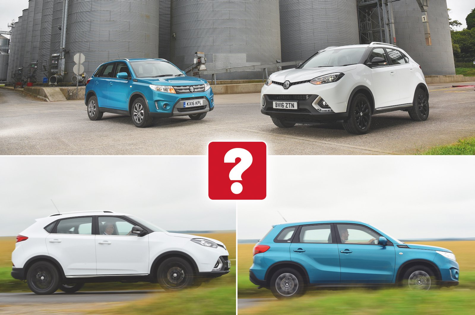 Used test: MG GS vs Suzuki Vitara