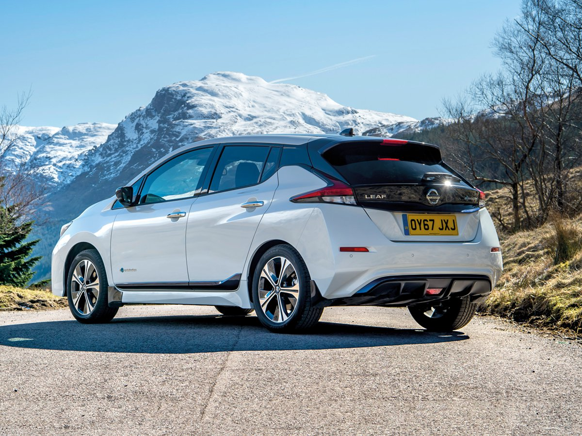 The new Nissan LEAF has been designed to conquer winter chills
