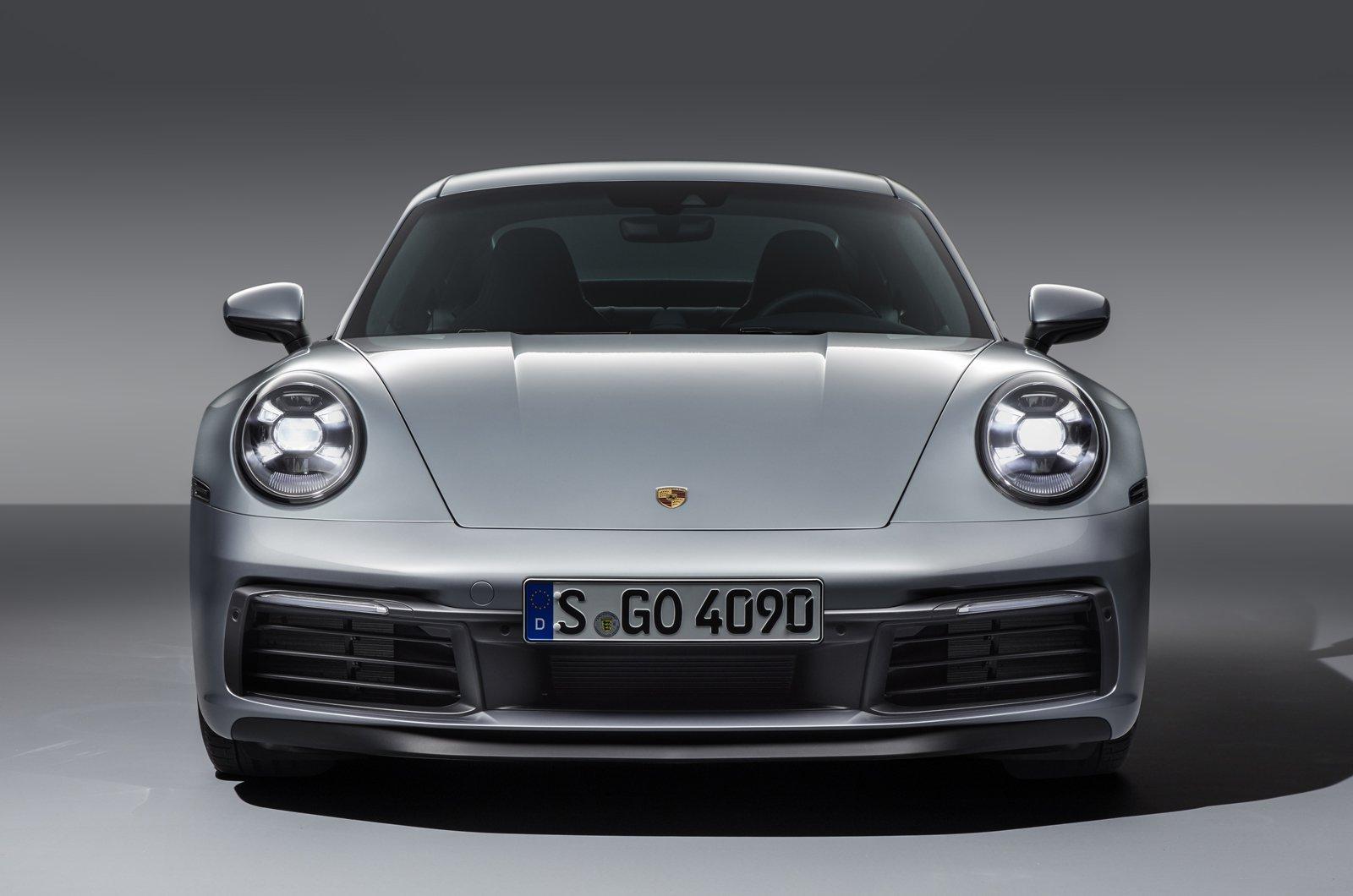 2019 Porsche 911 (992) nose