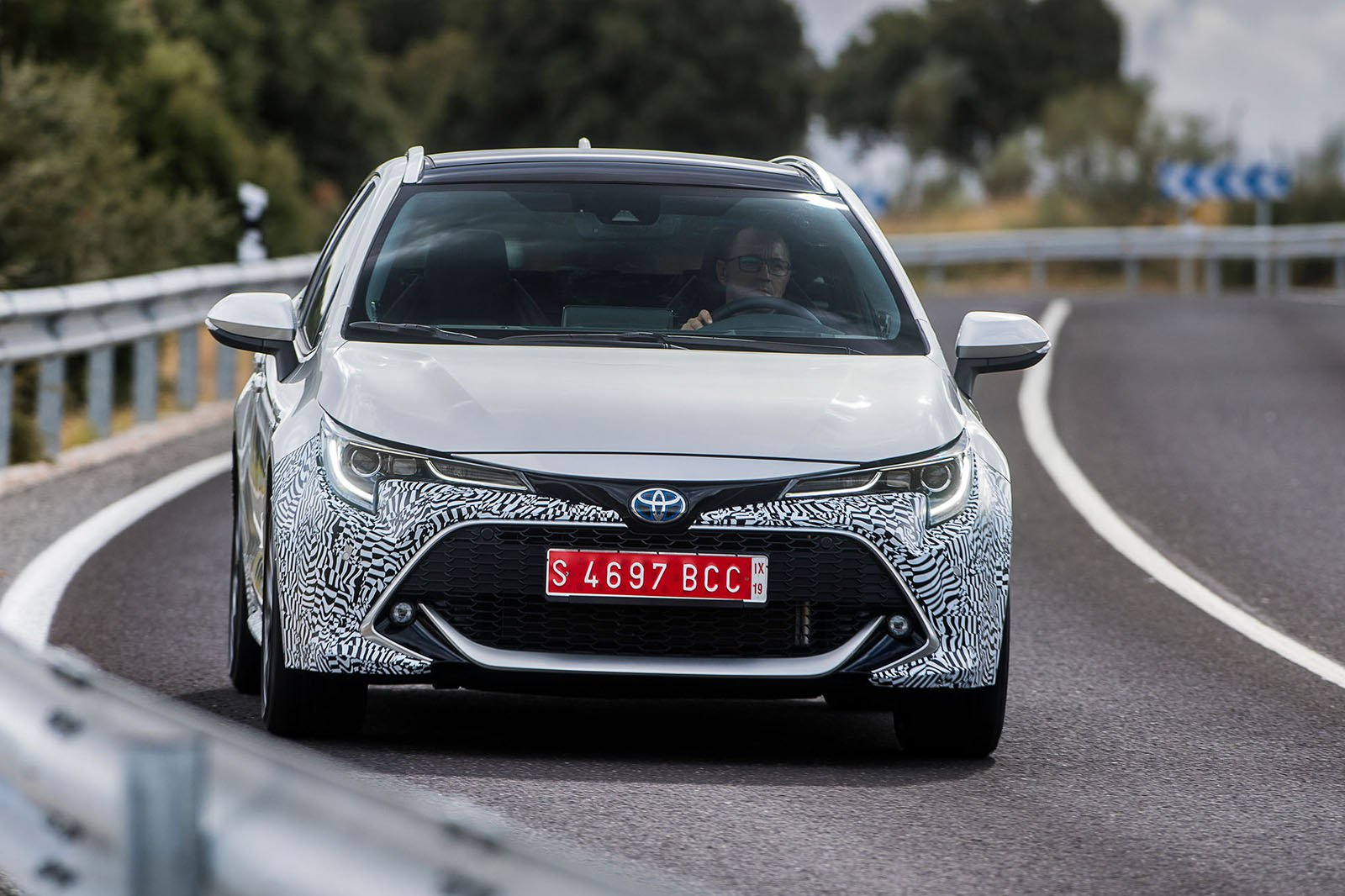 2019 Toyota Corolla Touring Sports Review Verdict What Car