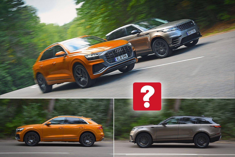 Audi Q8 vs Range Rover Velar