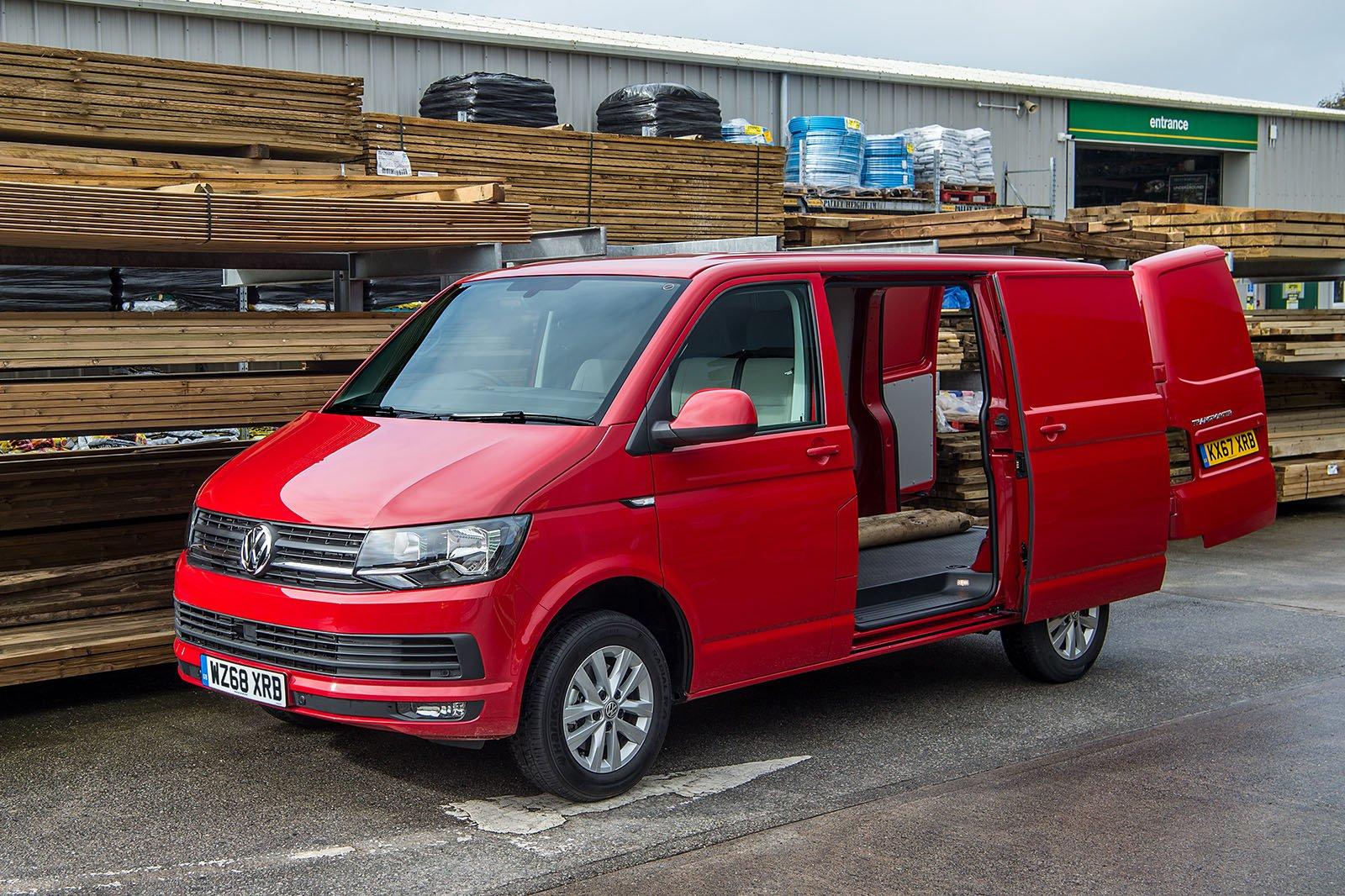 Volkswagen Transporter T6 practicality