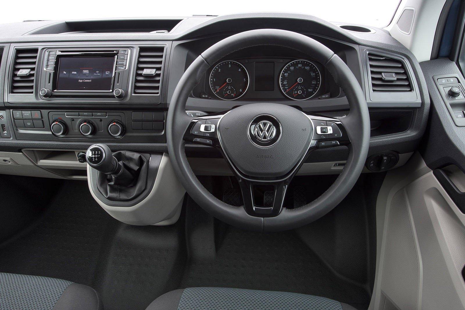 Volkswagen Transporter T6 interior