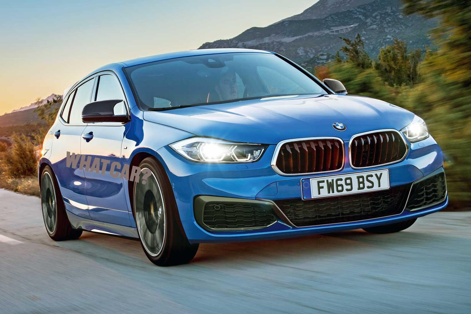 BMW 1 Series 2019 rendering