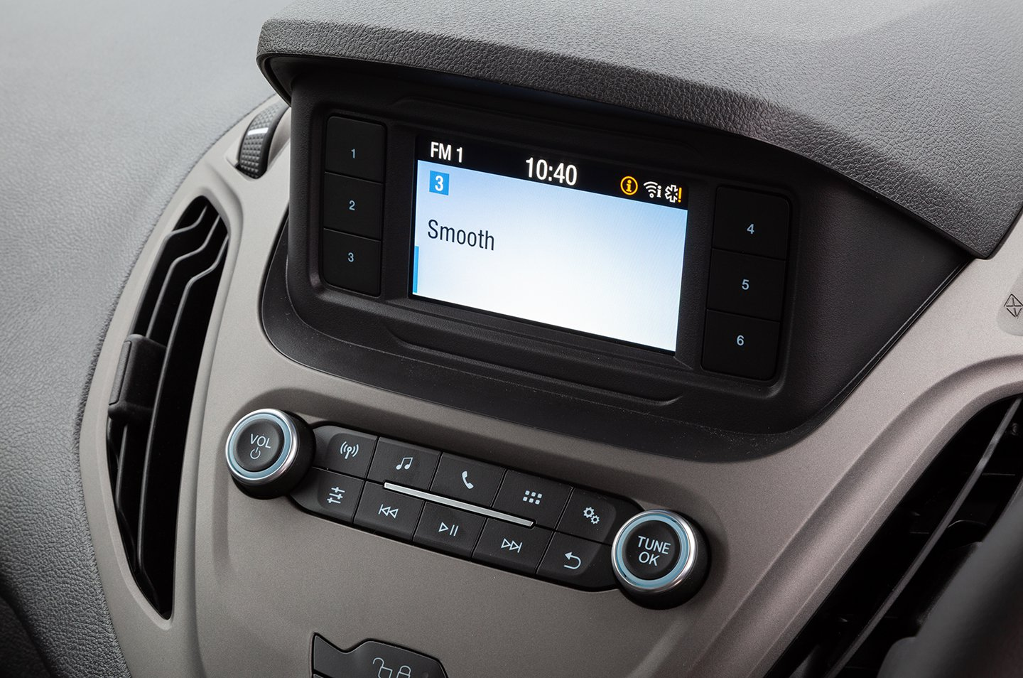 Ford Tourneo Courier infotainment