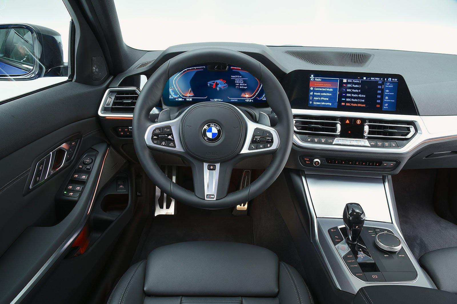Bmw 3 Series Interior Sat Nav Dashboard What Car