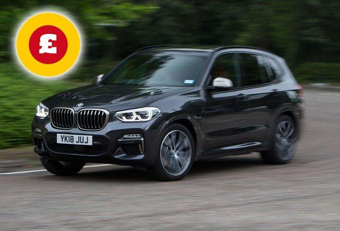 BMW X3 SUV deals