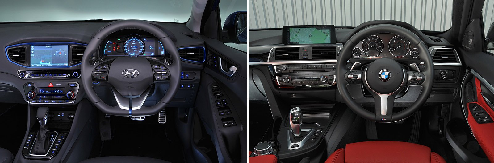 Used BMW 330e vs new Hyundai Ioniq