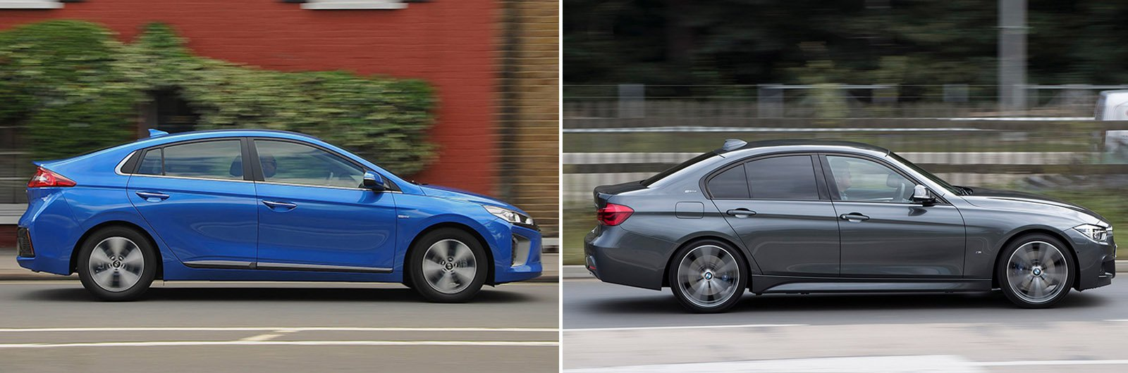 New Hyundai Ioniq vs used BMW 330e
