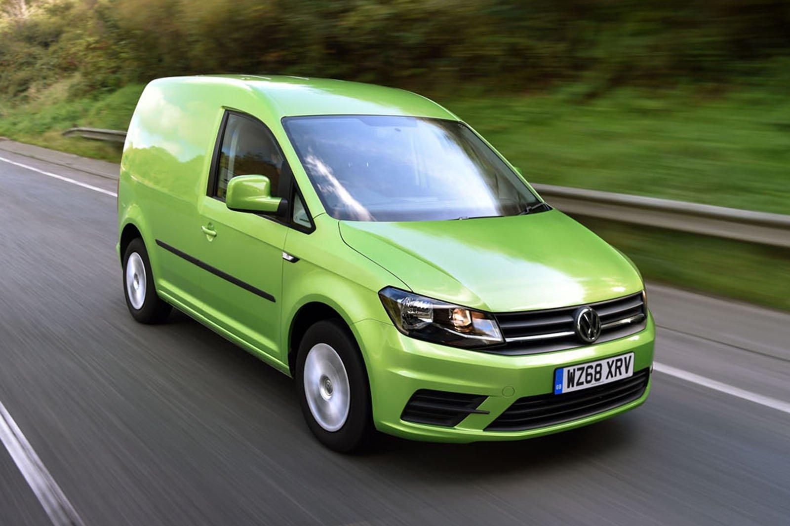 Volkswagen Caddy front