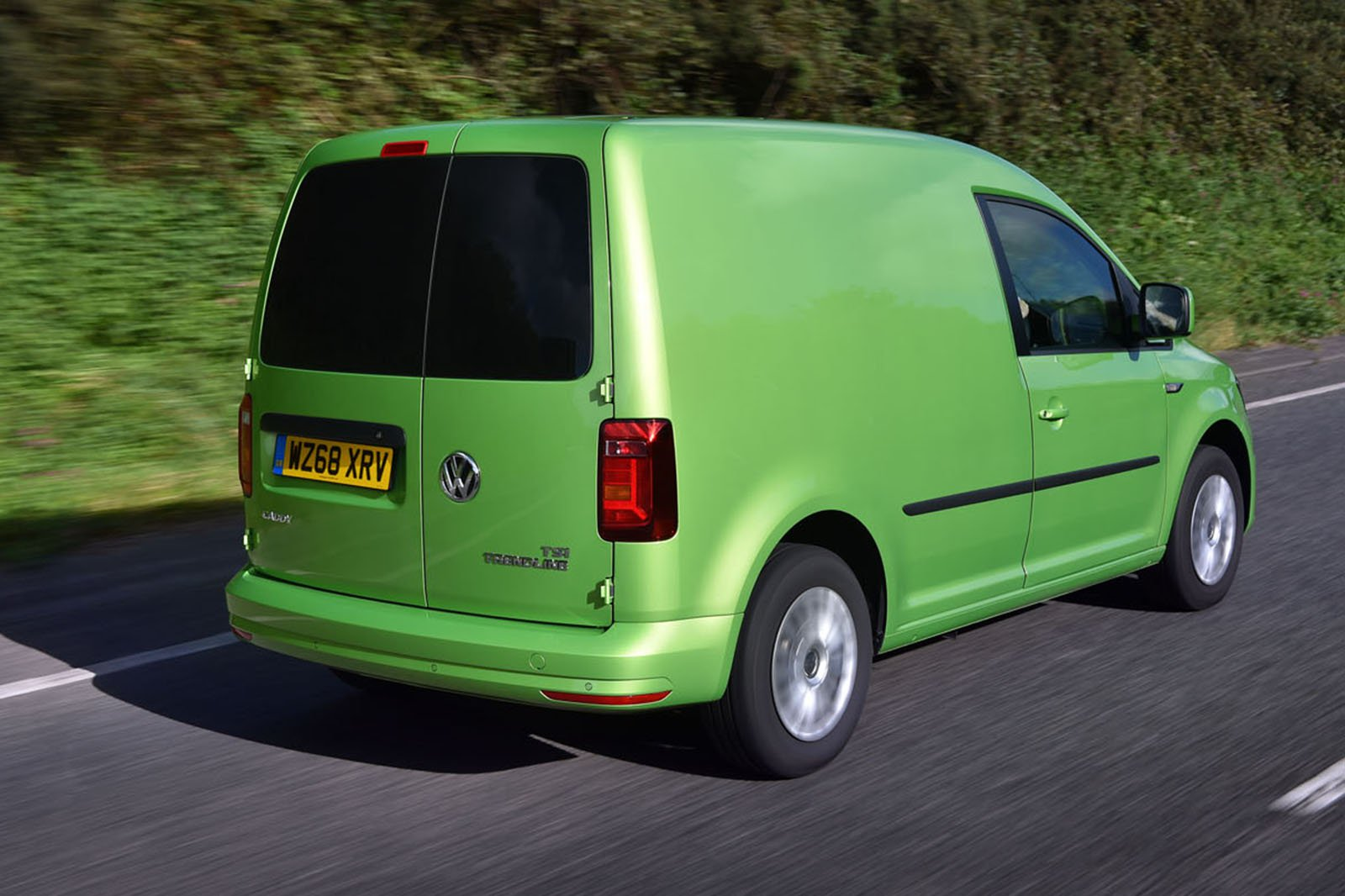 Volkswagen Caddy rear