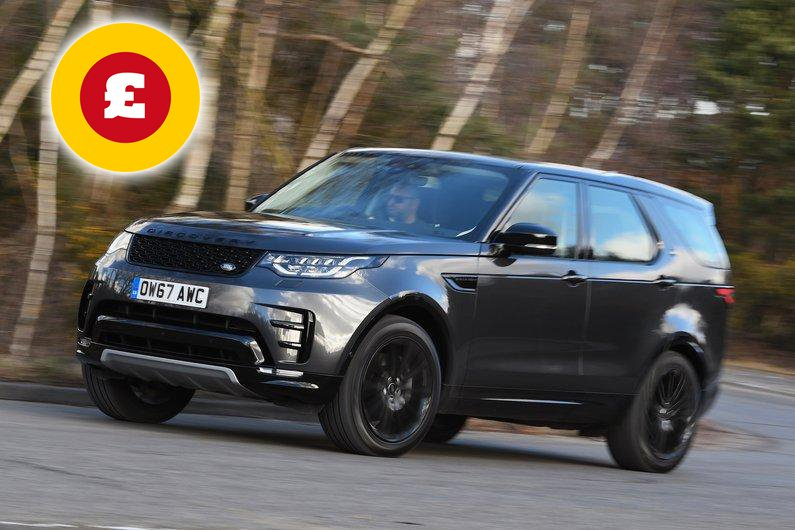 Land Rover Discovery SUV deals
