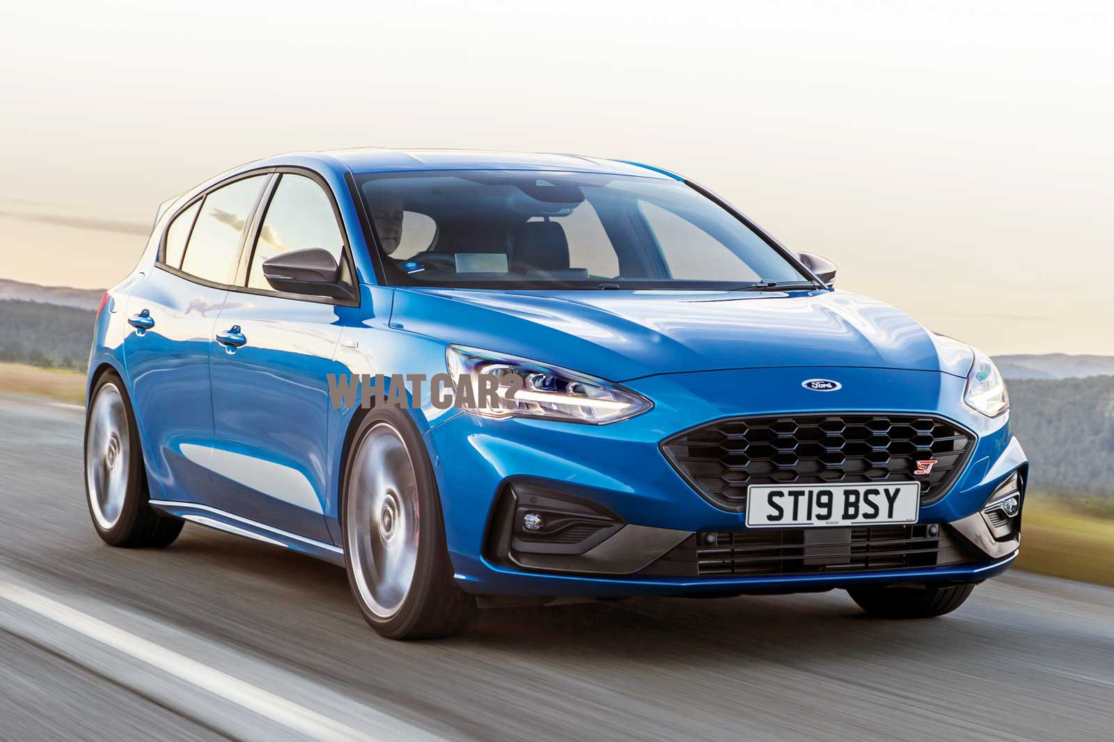 2019 Ford Focus ST rendering