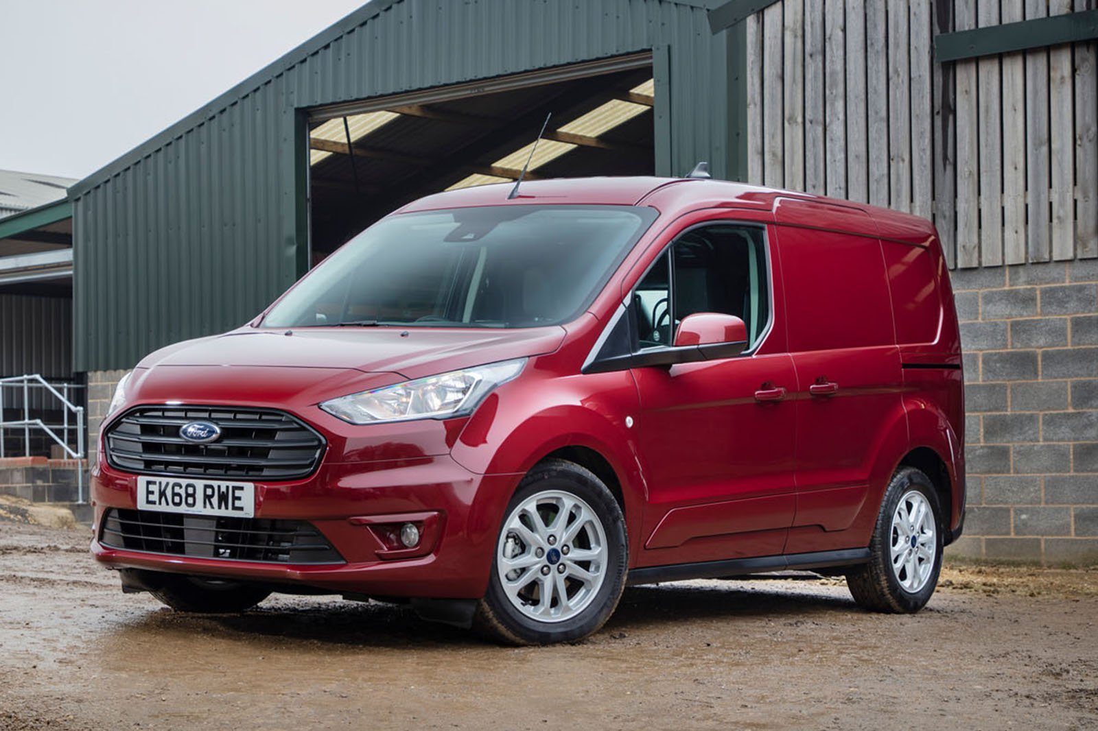Ford Transit Connect front