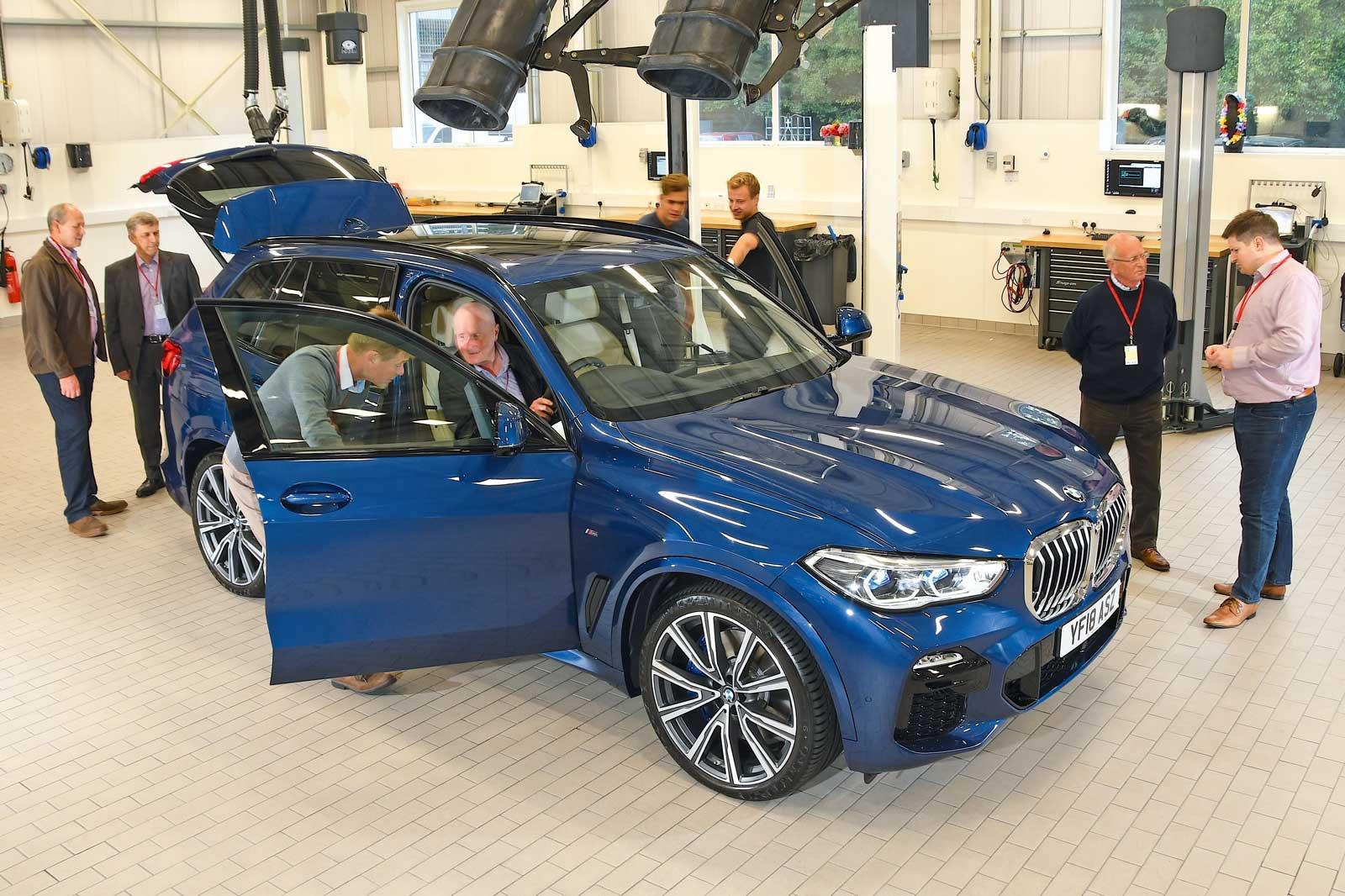 2018 BMW X5 reader test team