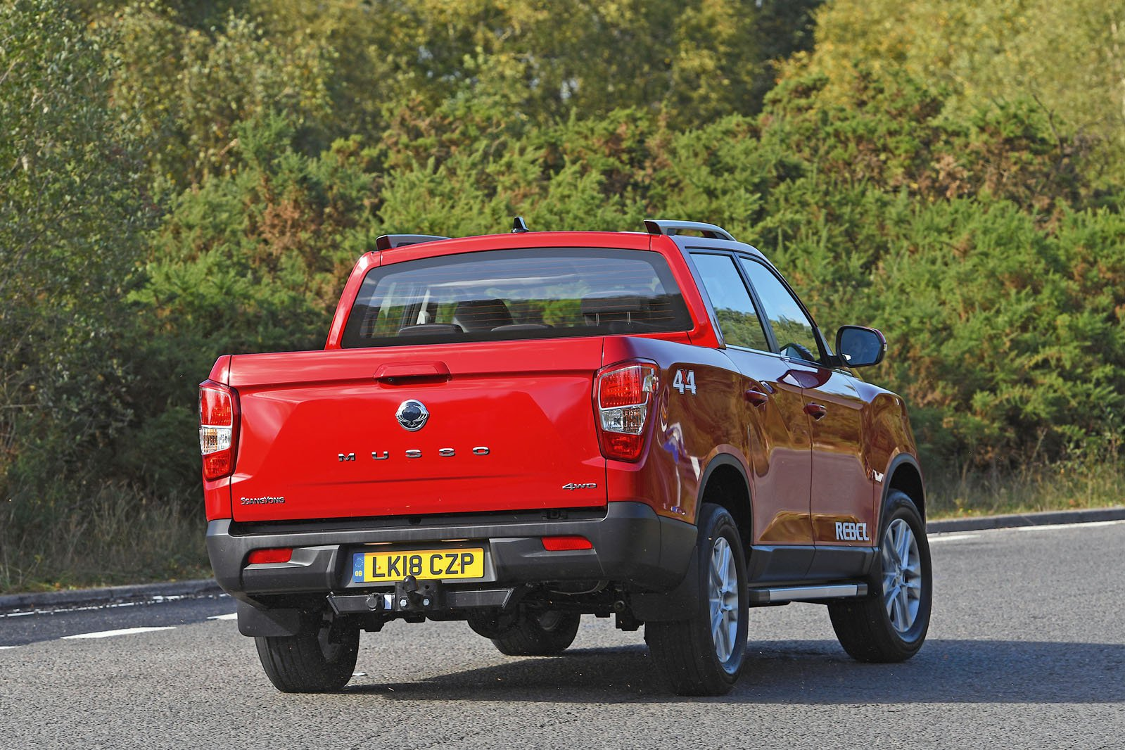 Ssangyong Musso rear