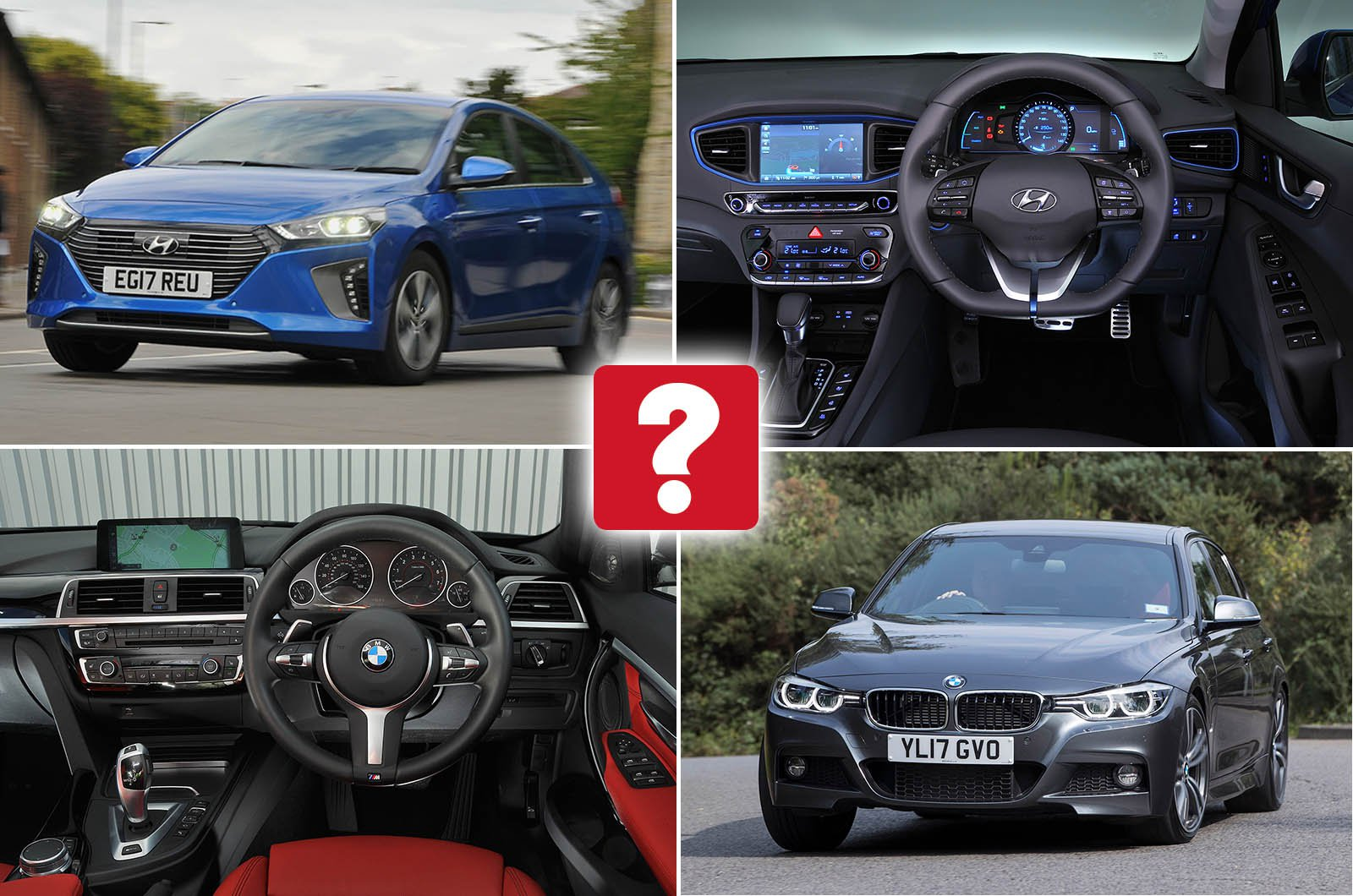 New Hyundai Ioniq Vs Used Bmw 3 Series Which Is Best