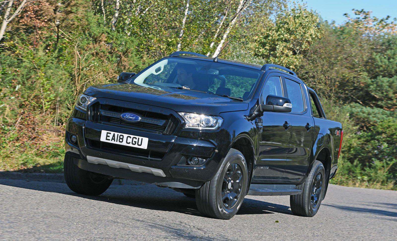 Ford Ranger front