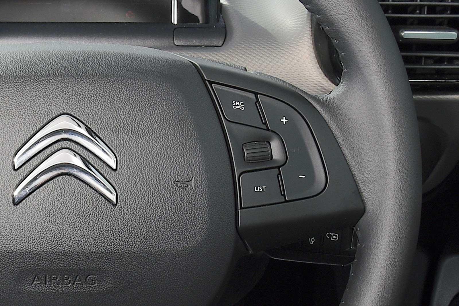 citroen c4 cactus steering wheel