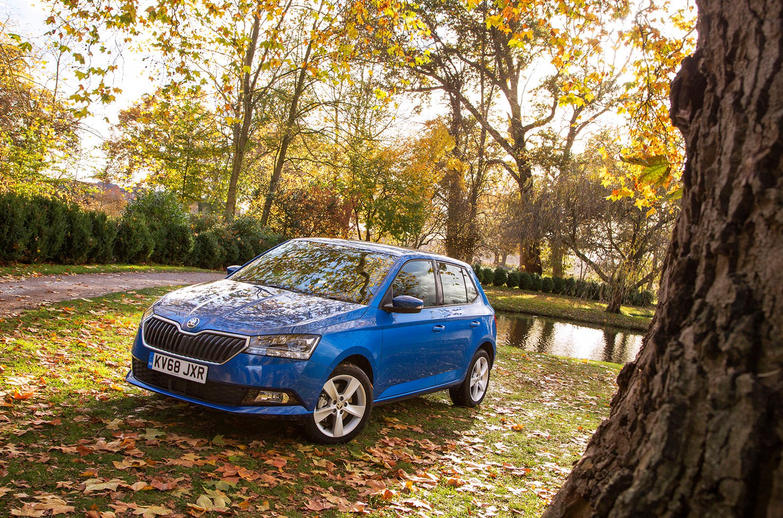 The Skoda Fabia is perfect for Beth's busy lifestyle – including her passion for drone photography