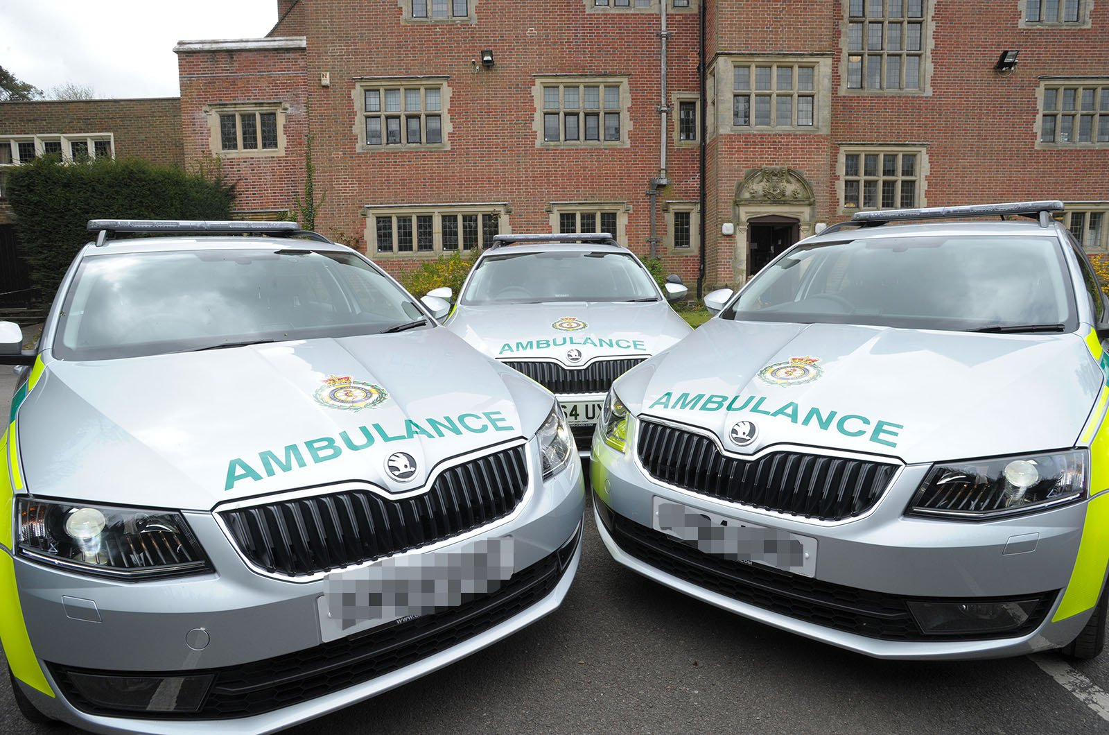 Skoda Octavia Estate ambulances