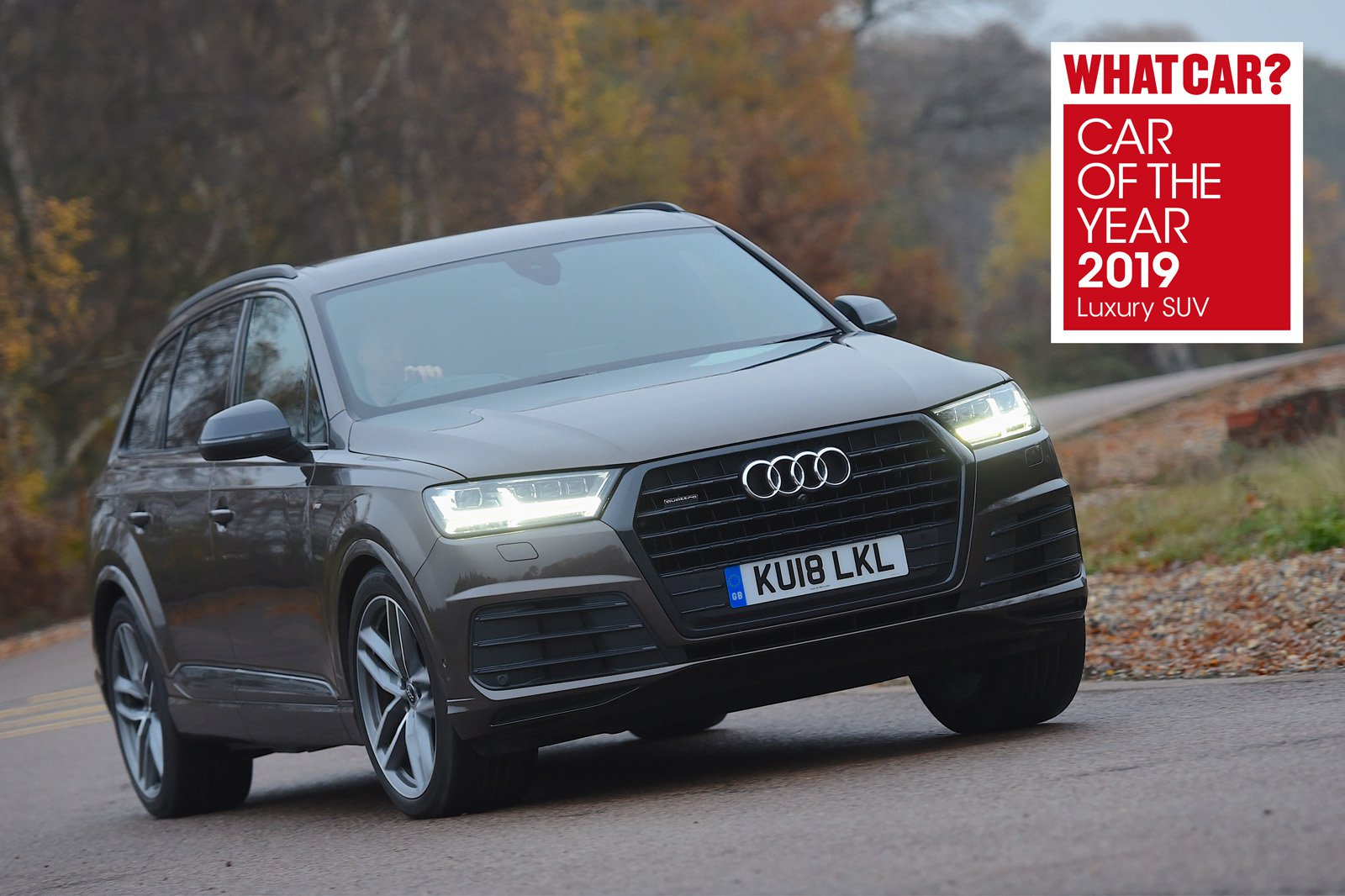 Audi Q7 2019 Awards
