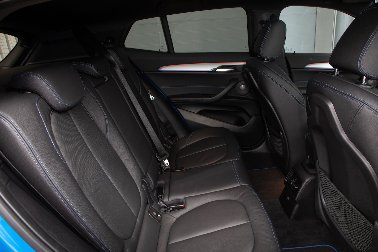 BMW X2 2019 rear seats