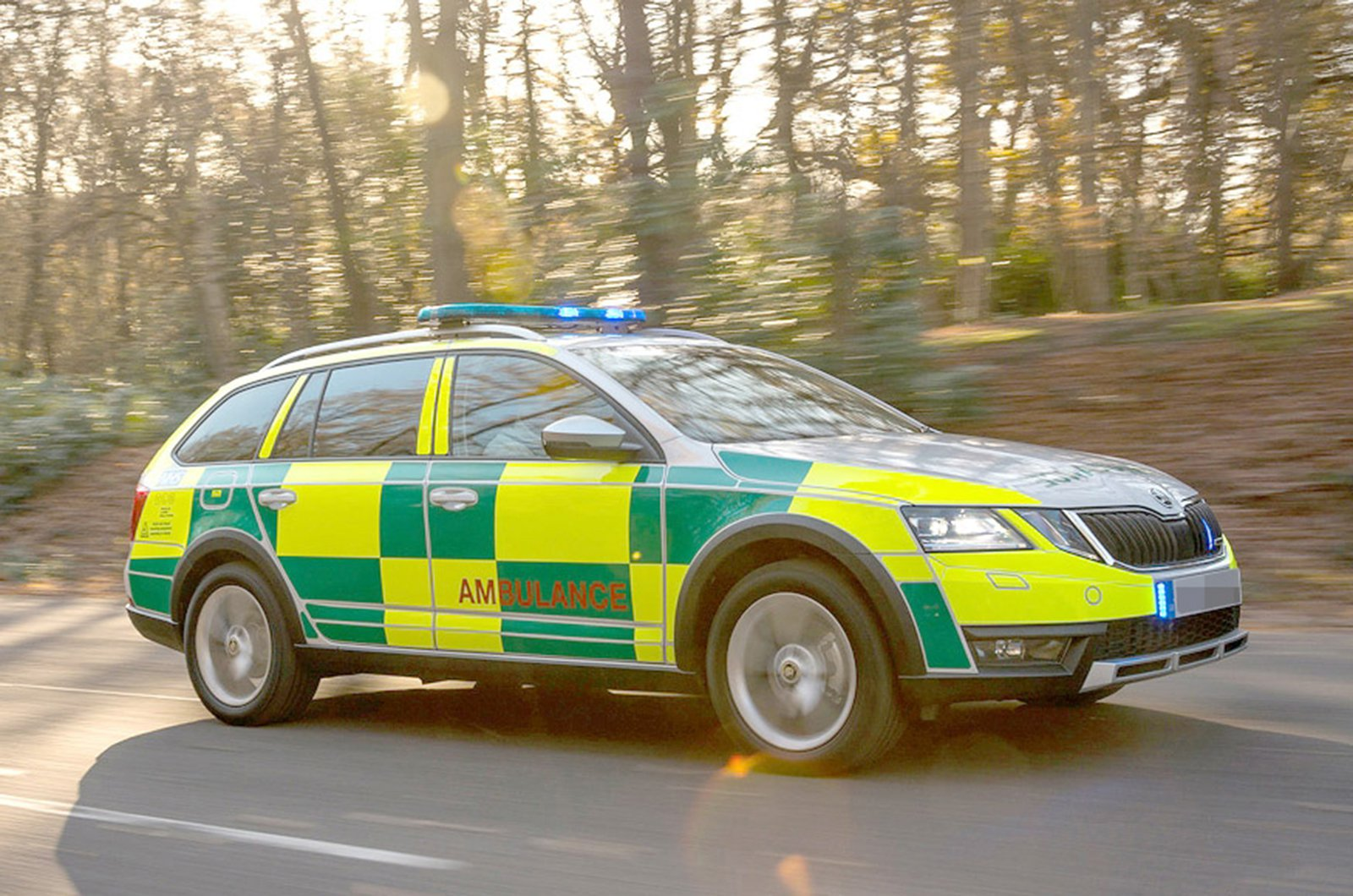 Skoda Octavia Estate Ambulance