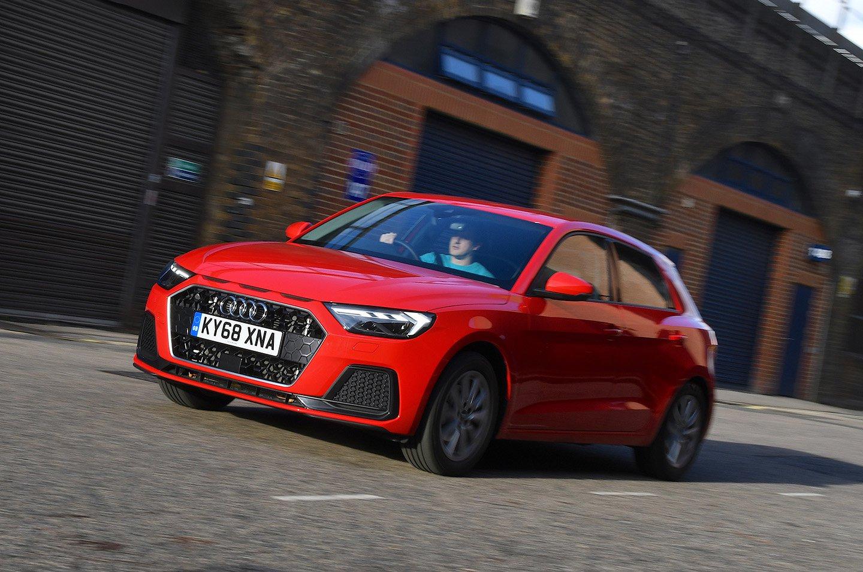 Audi A1 driving