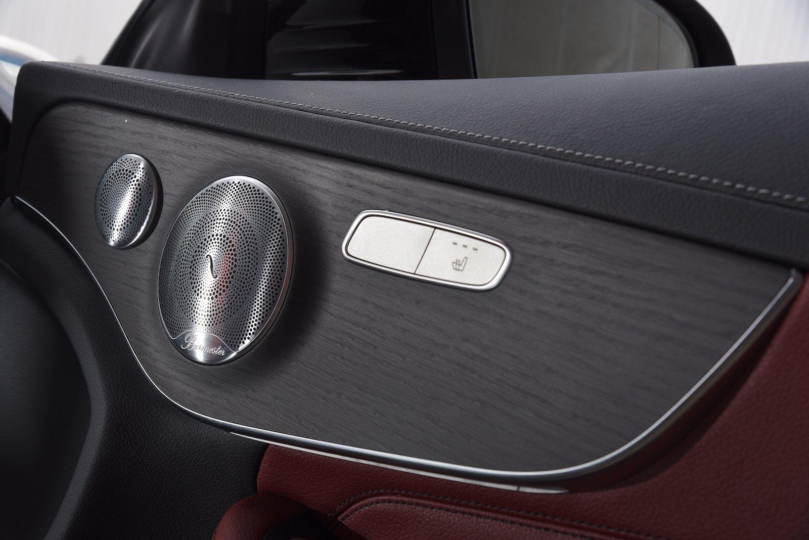 Mercedes-Benz C-Class Coupe 2019 interior door detail