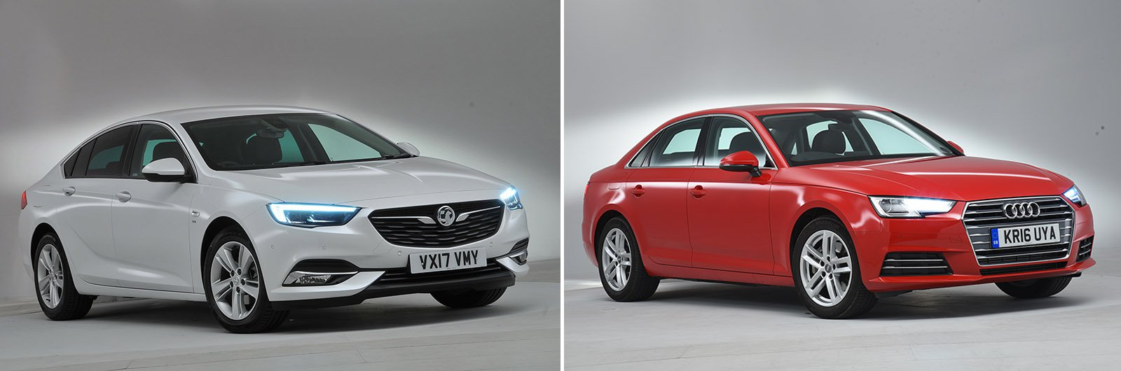 New Vauxhall Insignia Grand Sport vs used Audi A4: which is