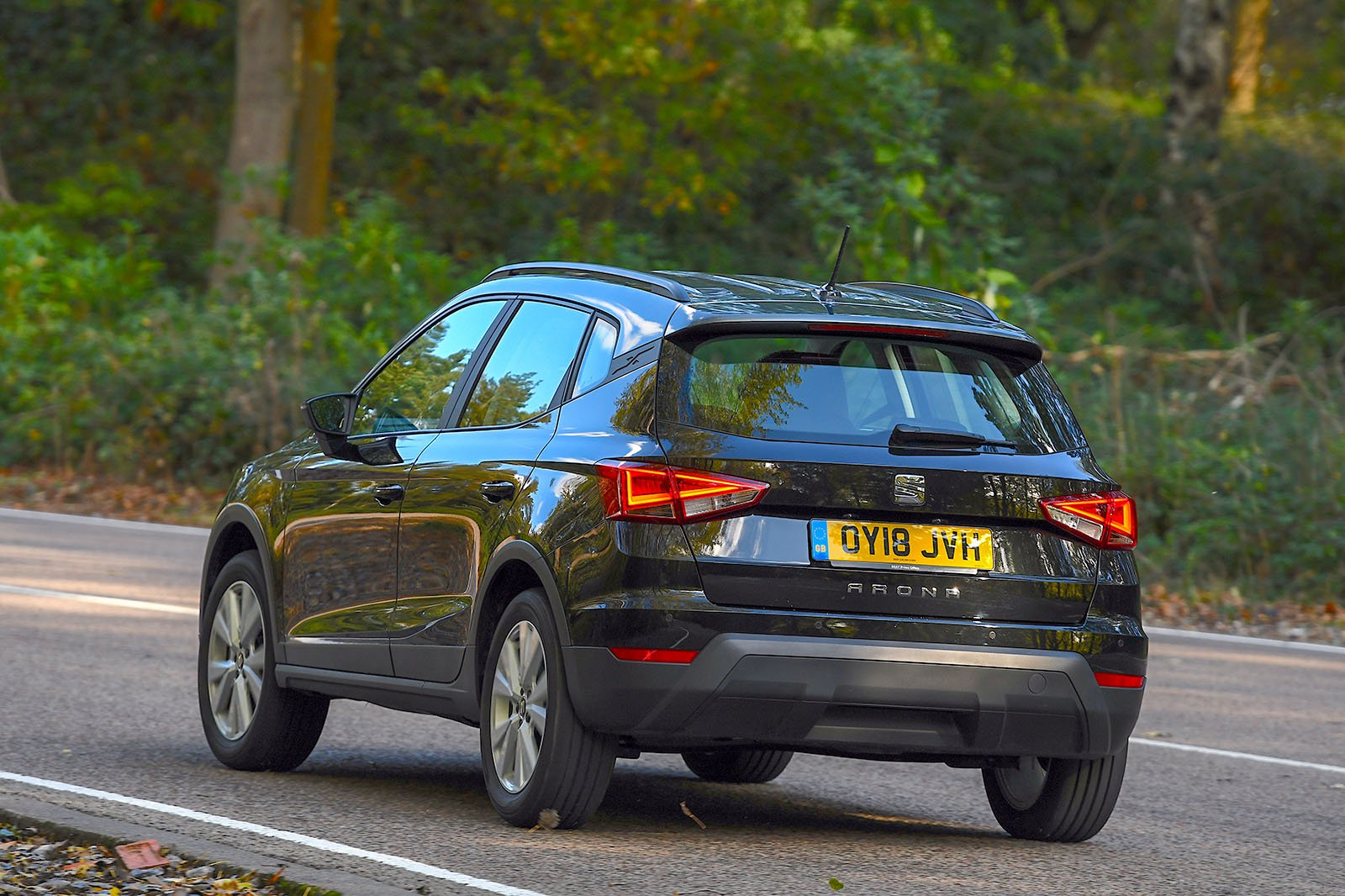 Seat Arona rear driving