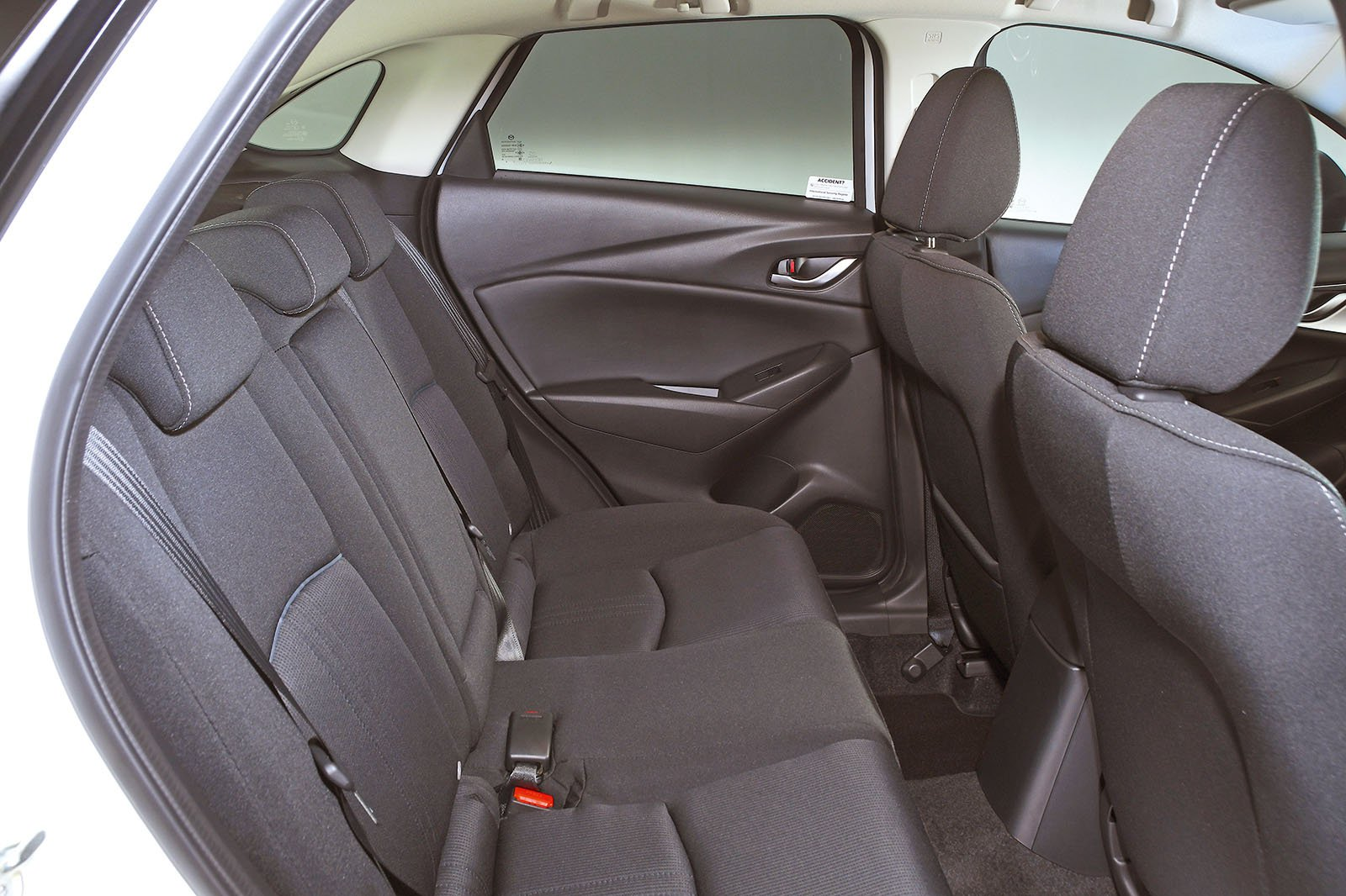 Mazda CX-3 rear seats