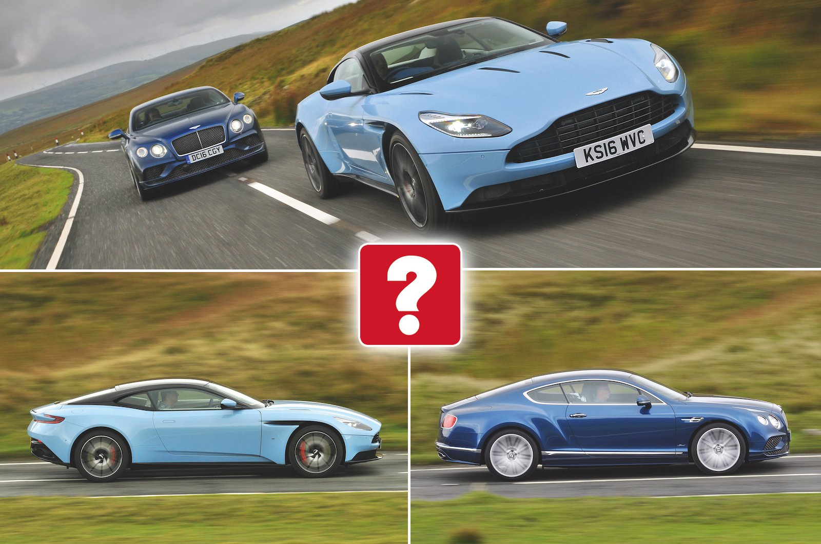 Used test: Aston Martin DB11 vs Bentley Continental GT