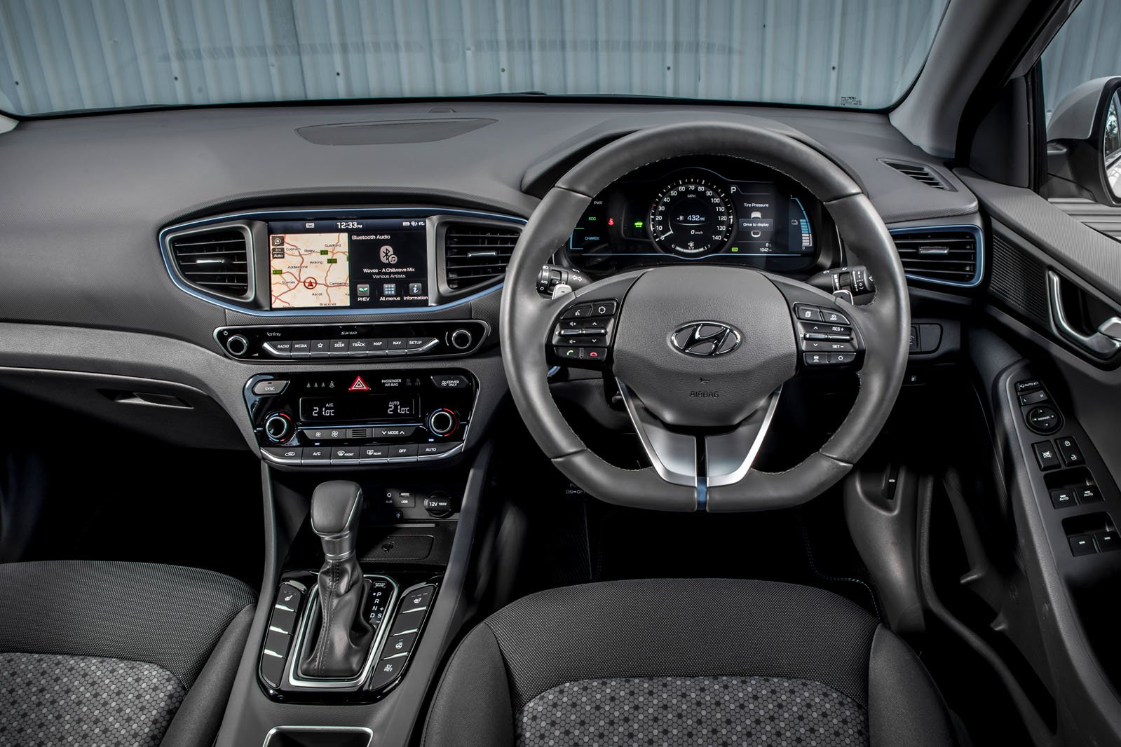 Hyundai Ioniq 2018 RHD dashboard