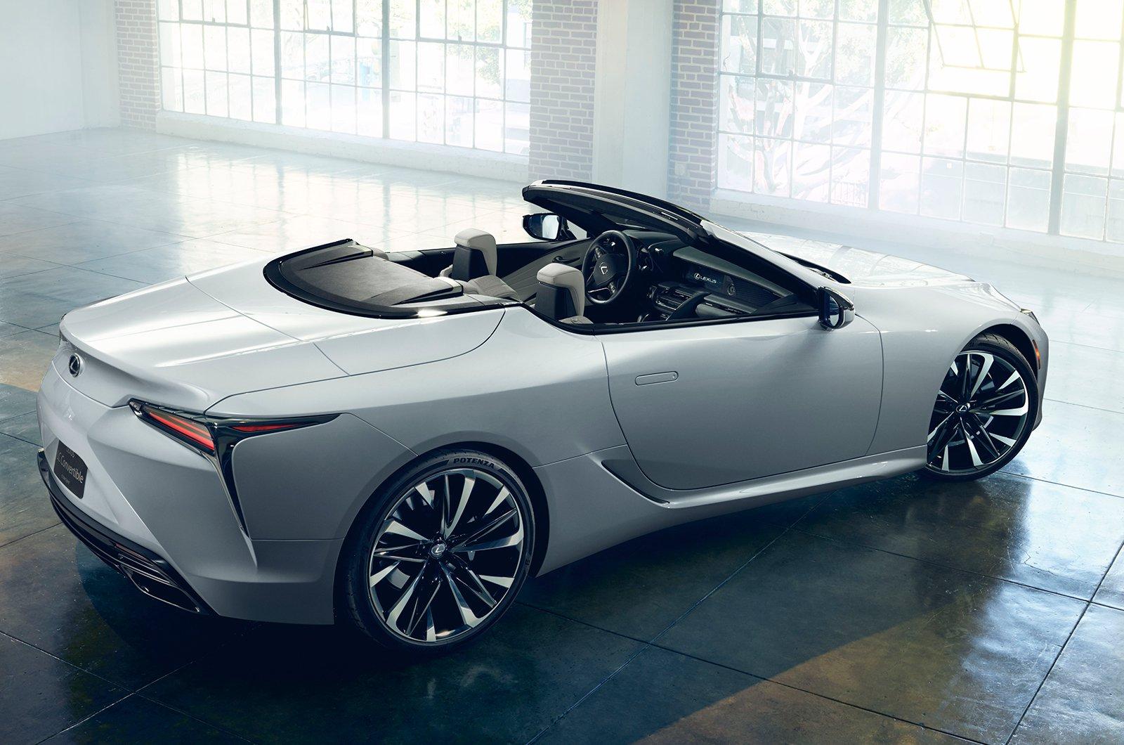 Lexus LC Convertible rear