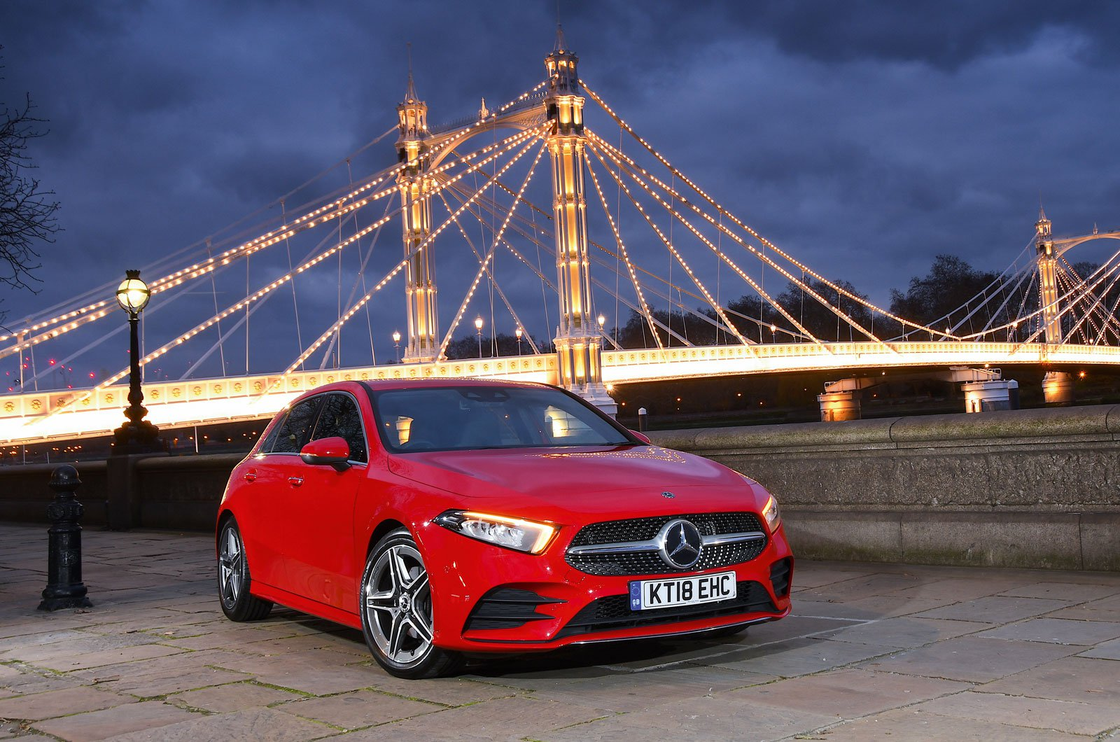 Mercedes A-Class Safety Award 2019