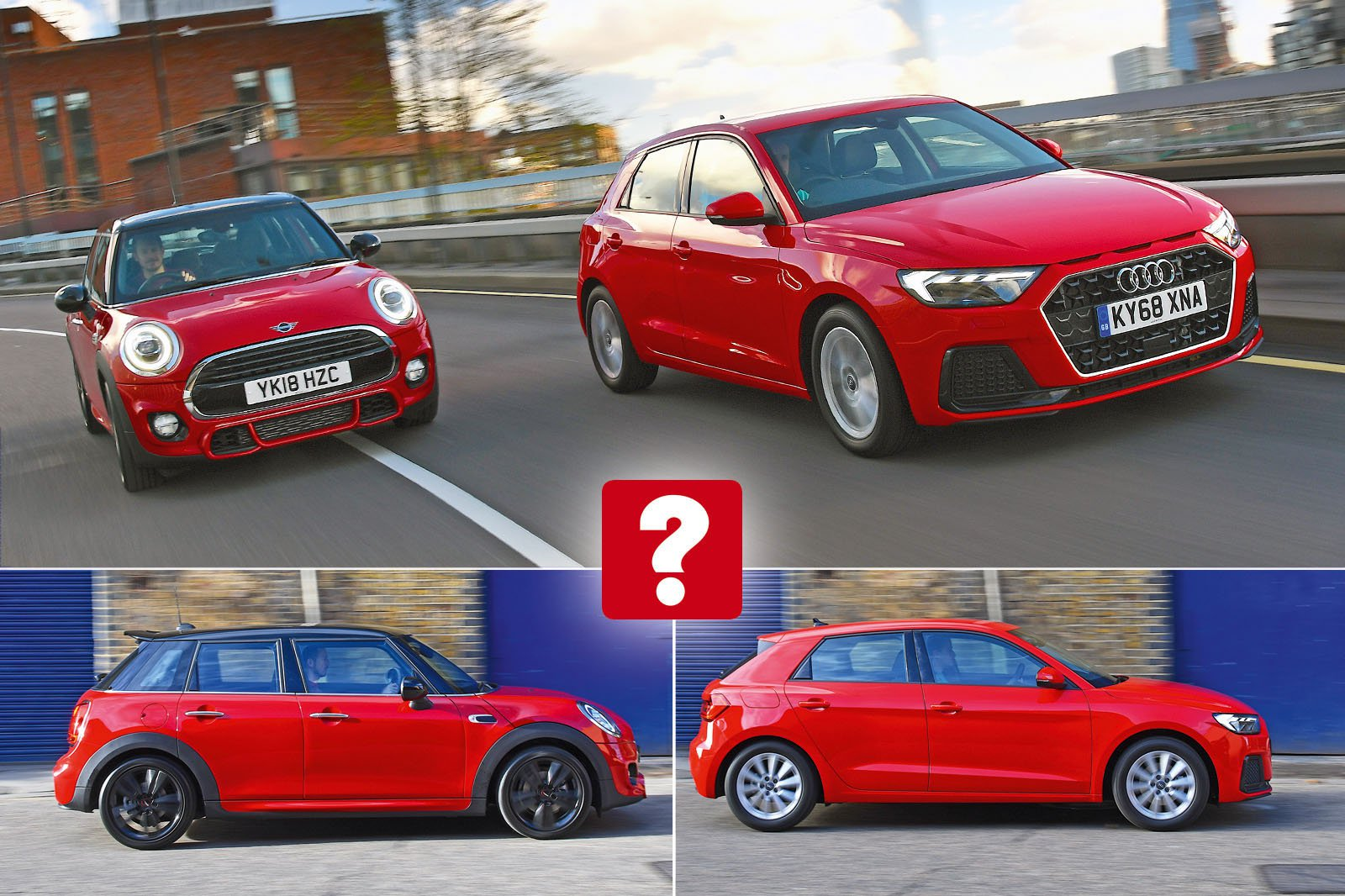 New Audi A1 vs new Mini 5dr