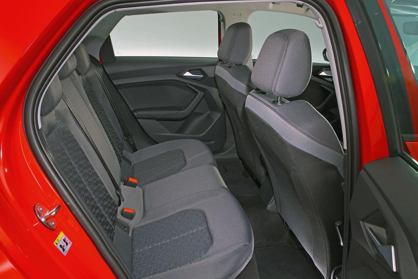 Audi A1 back seats