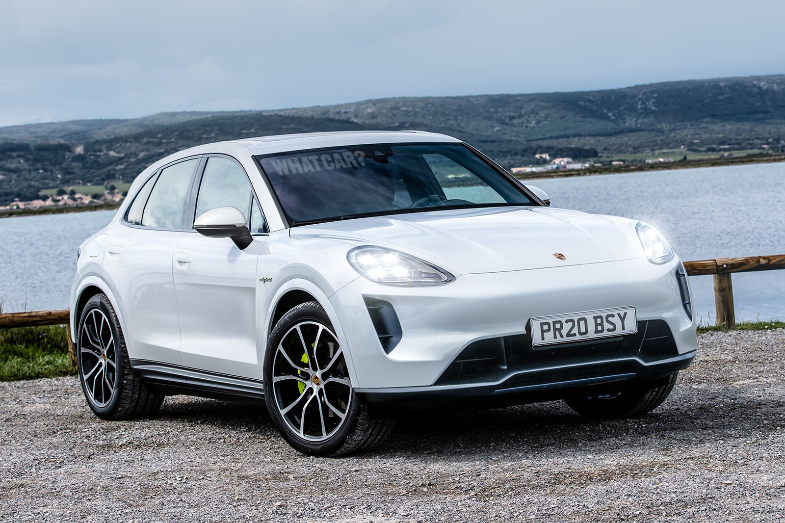 Porsche Electric Suv Render