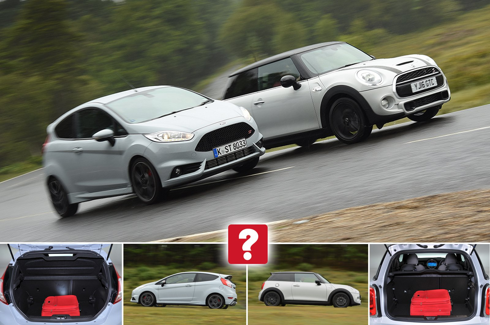 Used Ford Fiesta ST vs Mini Cooper S