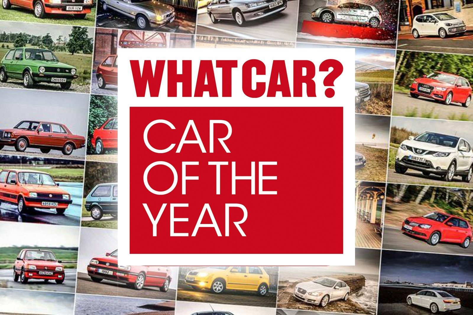 Former What Car? Car of the Year winners tile