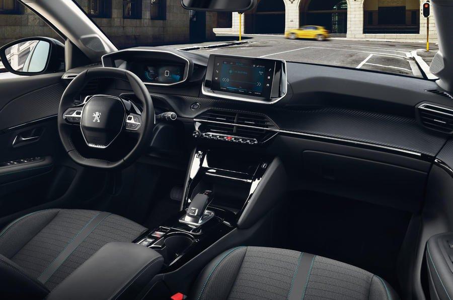 2019 Peugeot 208 dashboard