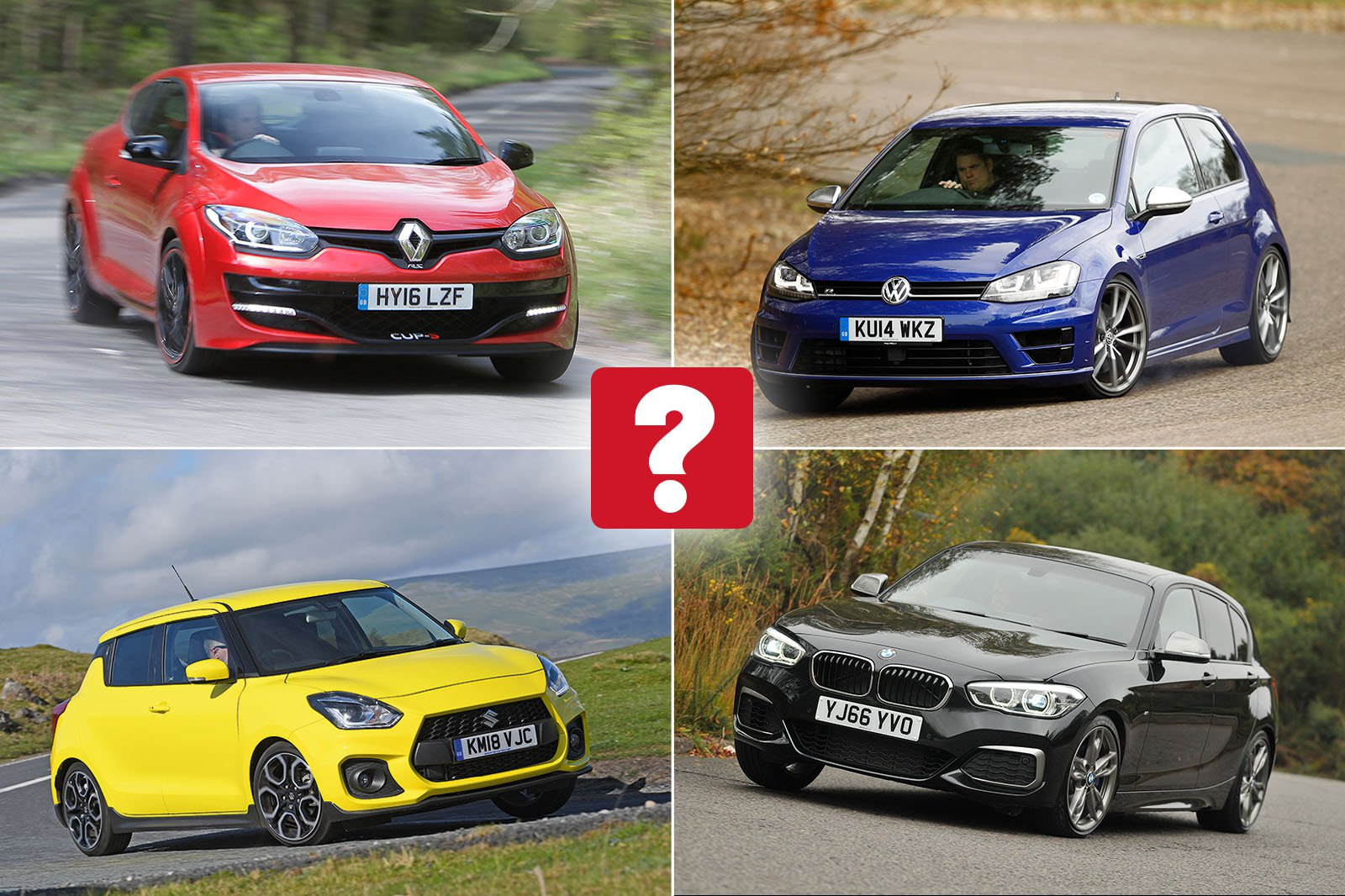 Best used hot hatches for less than £20,000